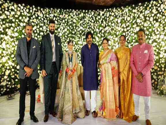Jayasudha Son Wedding Reception - Telugu Tamil Event Photos