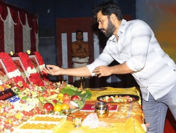 Karthi18 Movie Launch