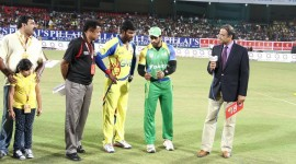 Kerala Strikers vs Chennai Rhinos Match - CCL 4