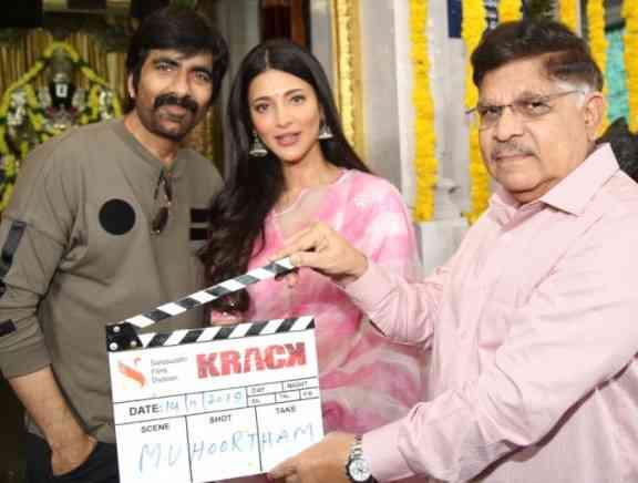 Krack Movie Launch - Telugu Tamil Event Photos