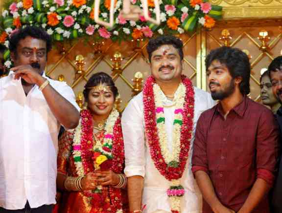 Kuppathu Raja Producer M Saravanan Wedding