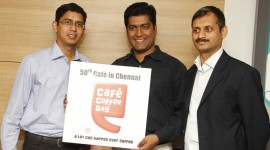 Launch of Cafe Coffee Day Unique Lounge