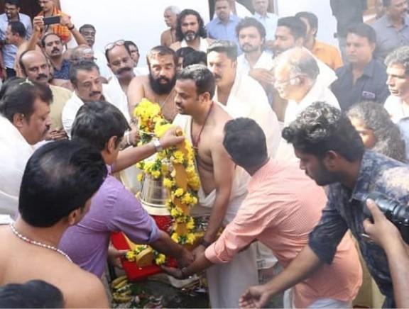 Mahavir Karna Movie Poojai