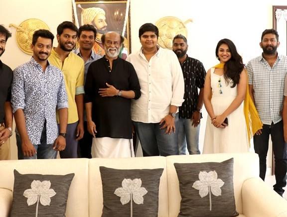 Mercury Team Met Superstar Rajinikanth