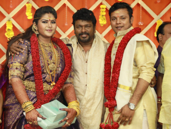 Parthiban and Seetha elder daughter wedding