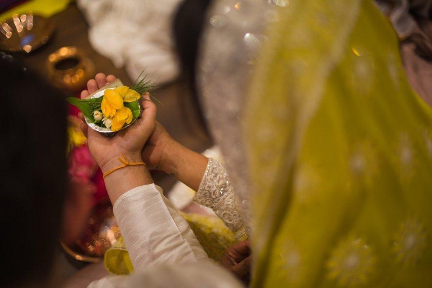 Priyanka Chopra and Nick Jonas Roka Ceremony