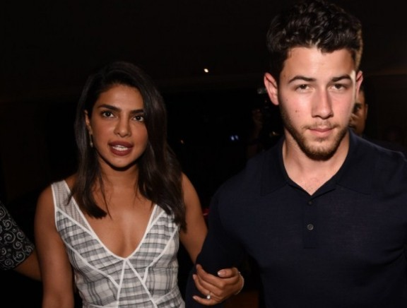 Priyanka Chopra with Nick Jonas spotted at jw marriott juhu for dinner