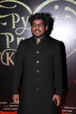Yuvan Shankar Raja at Pyaar Prema Kaadhal audio launch