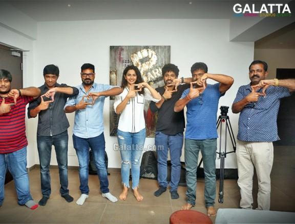 Rakul Preet Singh Launches Darshakudu Second Single