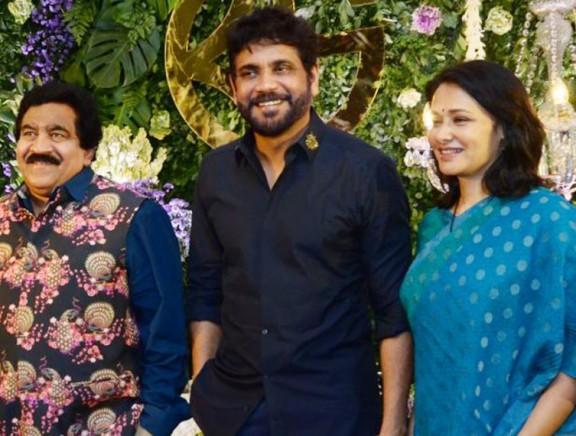 Saina Nehwal and Parupalli Kashyap's Wedding Reception