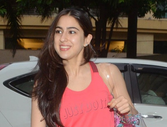 Sara Ali Khan Spotted Post Her Yoga Session