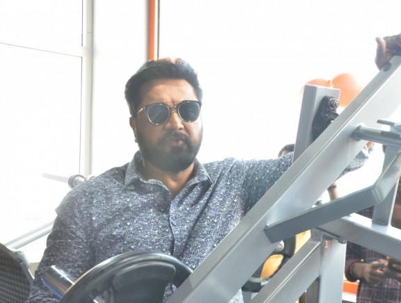 Sarathkumar Inaugurated Flux Fitness Studio