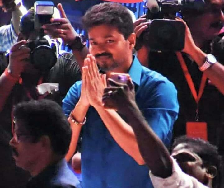 Thalapathy Vijay at Sarkar audio launch
