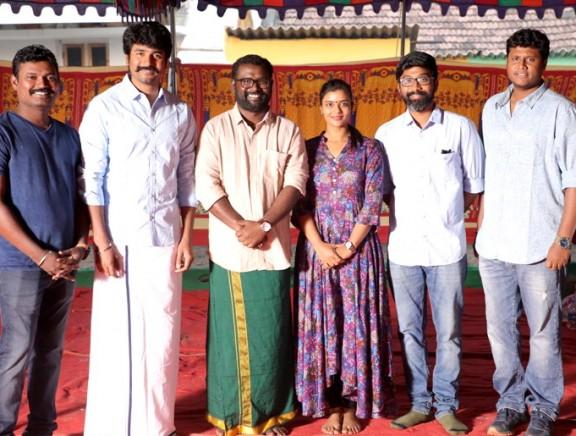 Sivakarthikeyan Productions Production No.1 Movie Pooja