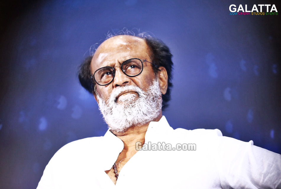 Rajinikanth in deep thought
