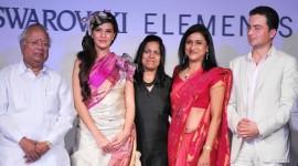 Swarovski Elements Fashion Show Weaves of South India