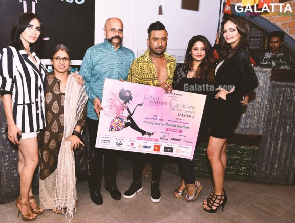 The Madras Couture Fashion Week Season 5 launch party at Glee, Chennai