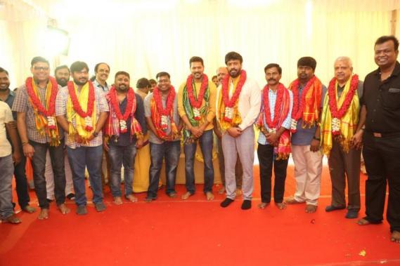 Prabhu Deva Theal movie pooja