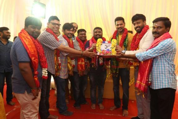 Prabhudeva Theal movie pooja