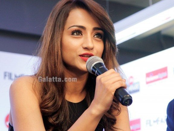 Trisha at Filmfare 2018 pressmeet