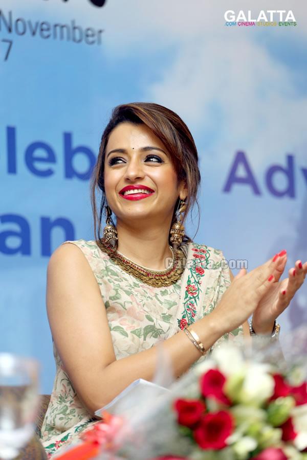 Trisha conferred Celebrity Advocate status by UNICEF for Child Rights