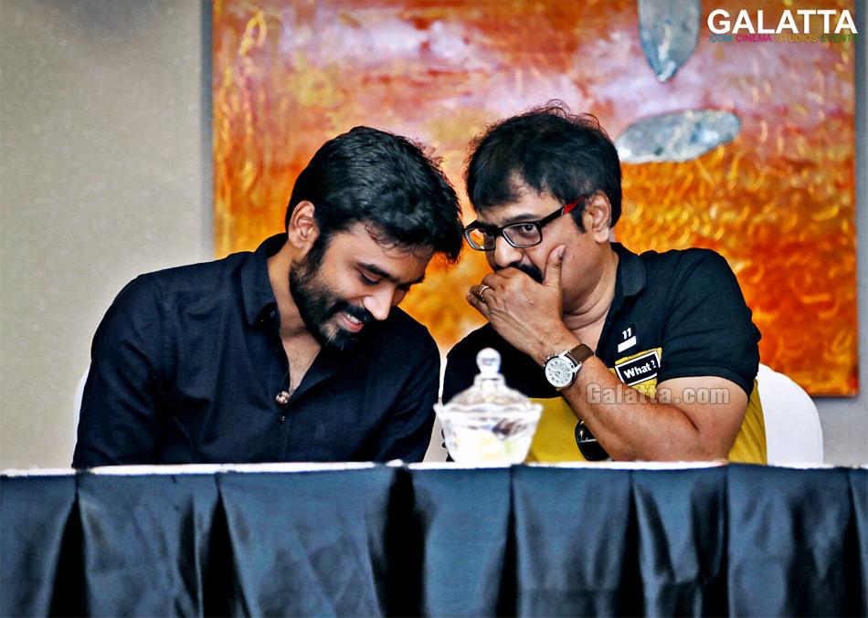 Dhanush and Vivek at VIP 2 Success meet