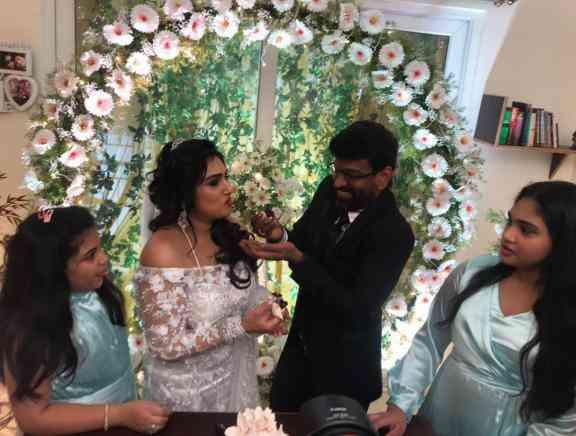 Vanitha Vijayakumar and Peter Paul Wedding Photos - Tamil Tamil Event Photos