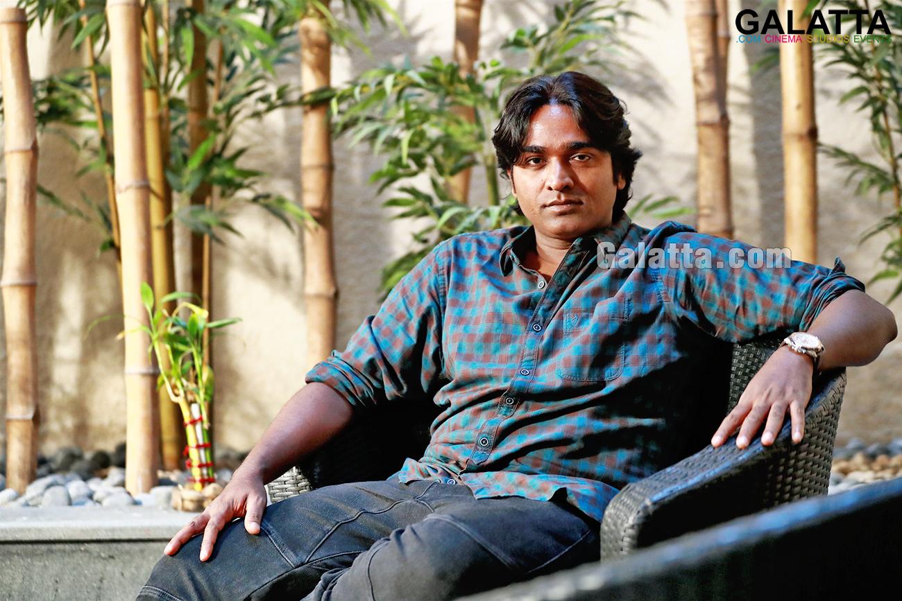 Vijay Sethupathi during an exclusive Galatta interview