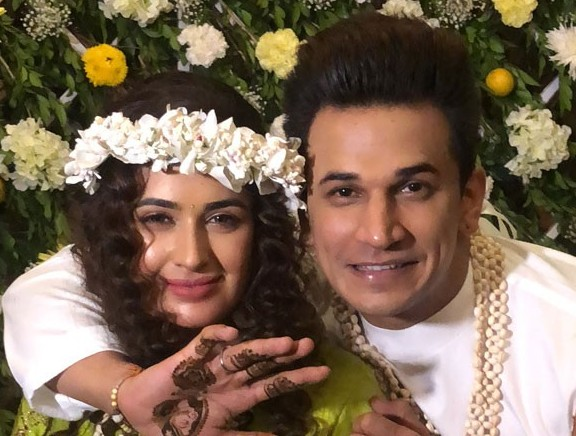 Yuvika Chaudhary, Prince Narula's Mehendi  and Engagement Ceremony