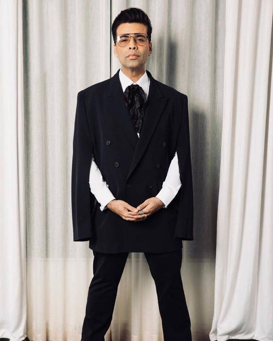 Filmmaker Karan Johar, who has been turning heads at the 2019 Indian Film Festival of Melbourne as much as any other star, has impressed us in some dapper suits.
