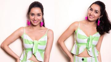 Shraddha Kapoor's pink earrings are cool, don't you think?