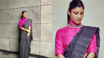 We love that colour pop, Konkona Sen Sharma!