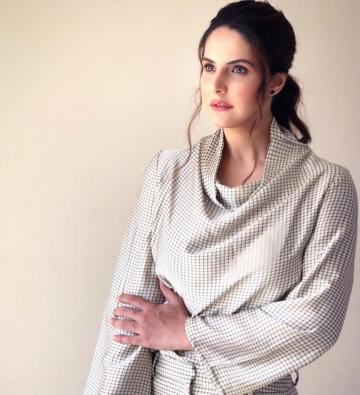 Zareen Khan was a Zara girl at the UNICEF child rights commission this week - Fashion Models