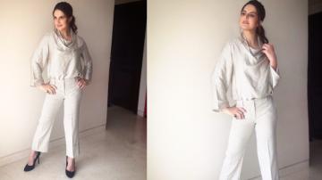 Zareen Khan's Zara outfit is all business