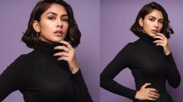 Mrunal Thakur's black outfit is fit for mourning, not the red carpet