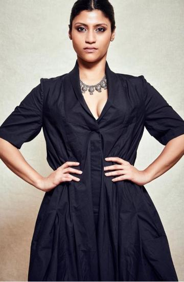 Konkona Sen Sharma proved that she is still a rebel at heart by going charmingly simple while promoting Dolly Kitty Aur Woh Chamakte Sitare at the Busan international film festival - Fashion Models