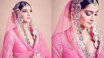 Sonam Kapoor is a vision in this pink lehenga