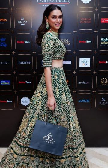 The lehenga that Aditi Rao Hydari wore to the Bombay Times fashion week matched the dignified air she always has about her - Fashion Models