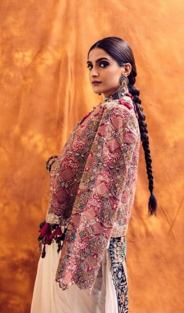 Hair and makeup artist Kaushik Anu is a star too, for the lovely simple plait and the perfect smoky eyes - Fashion Models