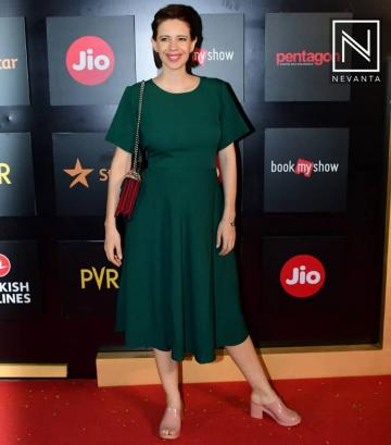 Kalki Koechlin arrived for the opening of Mumbai Film Festival in this envy invoking comfortable dress from the label, AND - Fashion Models
