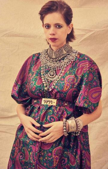 Kalki Koechlin was seen promoting her upcoming web series Bhram in this cool kaftan from Sabyasachi - Fashion Models