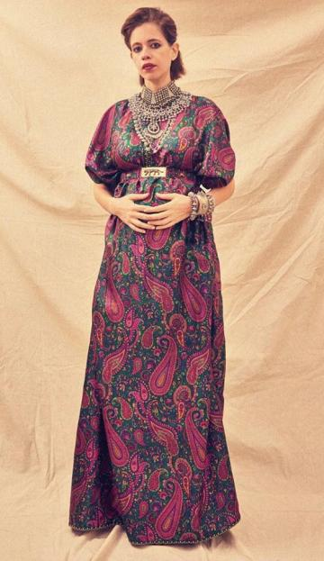 We love the print of the kaftan which looks like the ultimate definition of comfort - Fashion Models