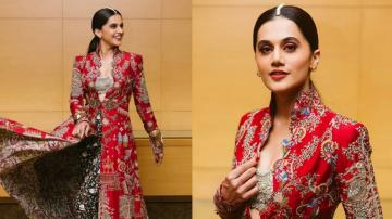 Taapsee is breathtaking in this ethnic outfit