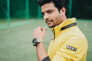 Neeraj Madhav was recently clicked in this athleisure look that he styled himself - Fashion Models