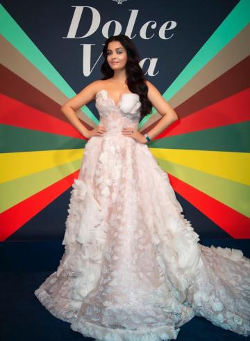 Aishwarya Rai Bachchan, who is celebrating her birthday today, shared some pictures of herself attending the launch of a new Dolce Vita store in Rome - Fashion Models