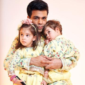 The family surely wins the twinning game and we hope they had a truly happy Diwali! - Fashion Models