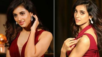 Check out Riya Suman's red dress