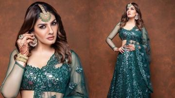 Raveena Tandon glittering like the diva she is
