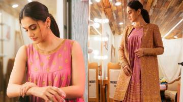 We're loving Taapsee Pannu's flowy silhouette top...