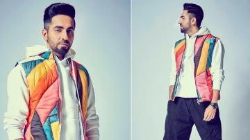 Ayushmann Khurrana's jacket is all fun